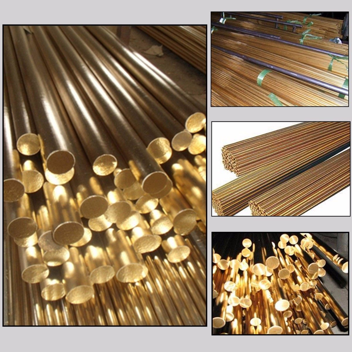 5 Pieces 1//4 1//2 /& 5//8 360 BRASS ROUND ROD 10.5 long Solid 5//16 3//8