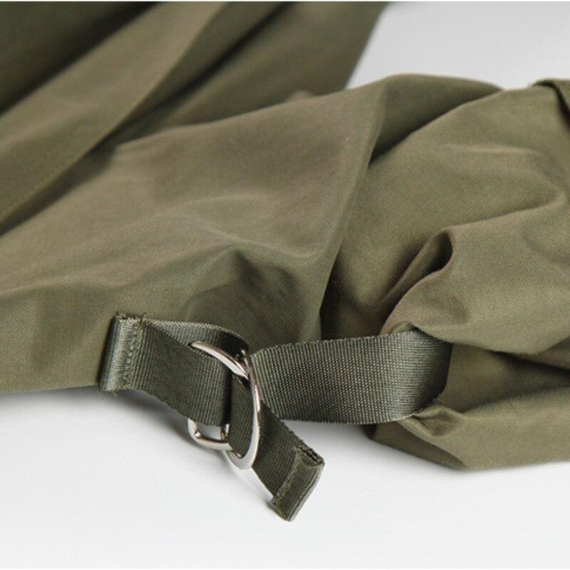 vent Bandage Nouveau Manteau Long Green Qualité Montant Col Ceinture Ressort Droite Avec Dames Type Supérieure Coupe Q044 2019 Décontracté YvxqfAx