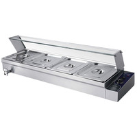 Best Price Bain Marie For Commerical Kitchen Food Warmer Catering Equipment Machine Electric Soup Stock Pots