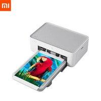 Новый Сяо Ми Цзя фото принтер Тепловая Сублимация мелко восстановить True Цвет Авто несколько беспроводной портативный Printer35