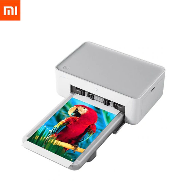 Nouvelle imprimante Photo Xiao mi mi jia mi Sublimation thermique finement restaurer la véritable couleur automatique imprimante Portable sans fil Multiple