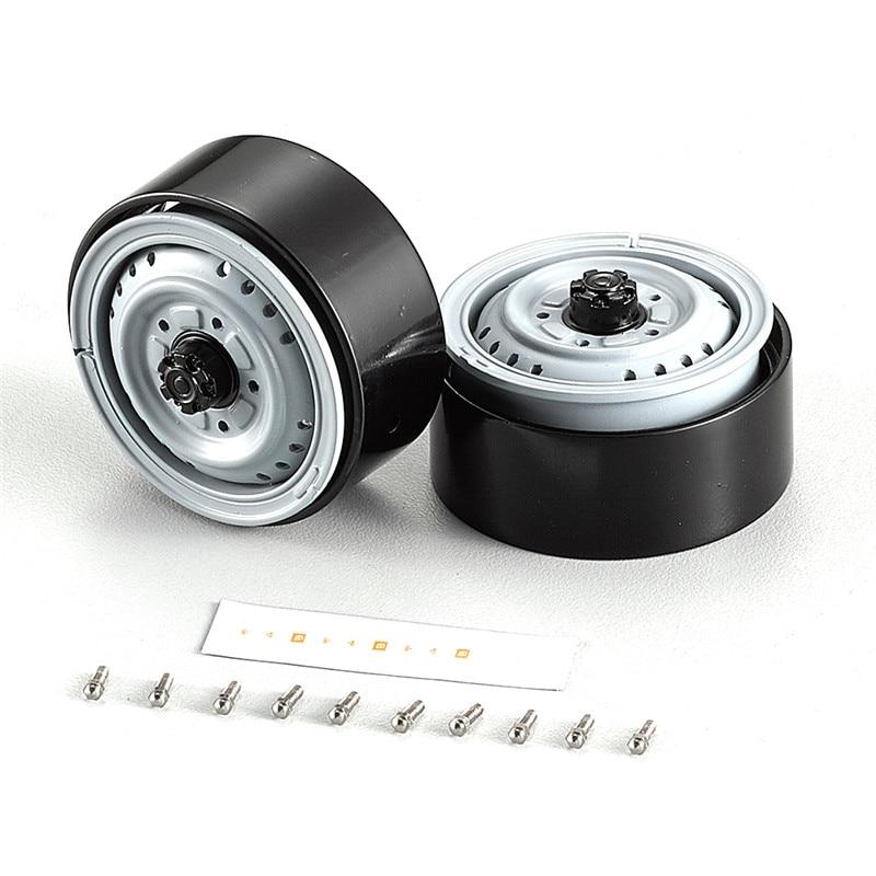 1 paire Killerbody 48693 alliage d'aluminium 1.68 pouces RC moyeu de roue de voiture pour pneu KB48691 3.35 pouces