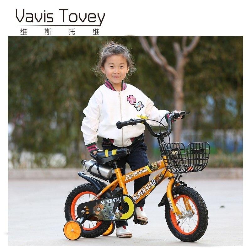2019 limitée dans Le Temps Réel 11 kg 8 Cadeau Enfants de Vélo 2-3-4-6 Année vieux 12-14-16-18 Pouces Enfant Vélo de Sports de Plein Air Enfant De Frein