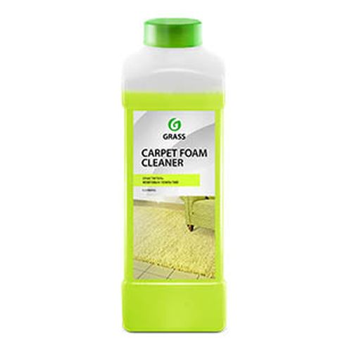 Cleaner carpet covers Grass Carpet Foam Cleaner 1L (215110) автошампунь grass универсал яблоко 1l 111100 2