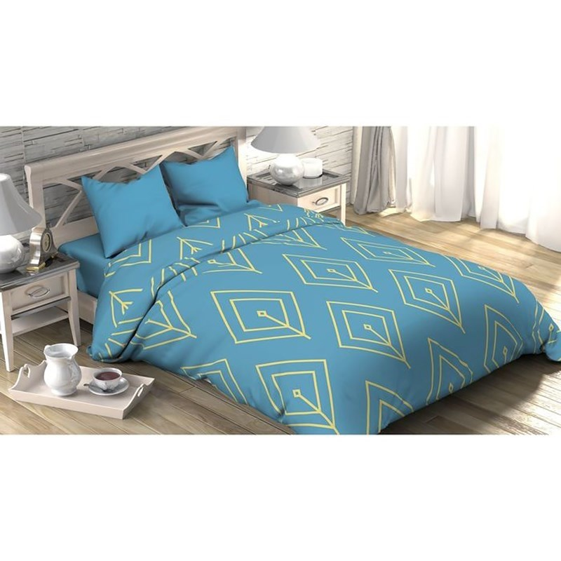 [Available with 10.11] linens euro Turquoise petal