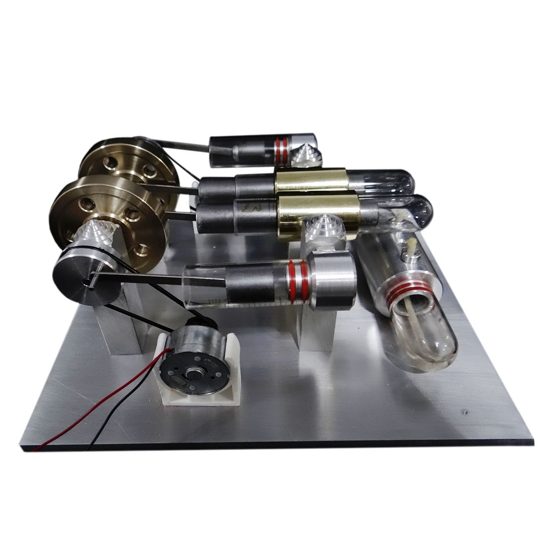 Kits de construction de modèle de moteur de générateur d'agitation de Double-cylindre de Quartz de haute puissance jouets pour des enfants