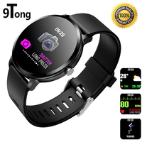9Tong V11 Men Smartwatch Heart Rate Monitor Smart Watches Waterproof Smart Watch Fitness Tracker ritmo cardiaco for Andriod