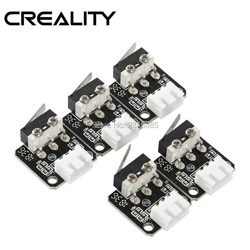 5PCS Mixed CREALITY 3D Original 3D Printer Accessories X/Y/Z axis Limit Switch 3Pin N/O N/C control easy to use Micro Switch(China)