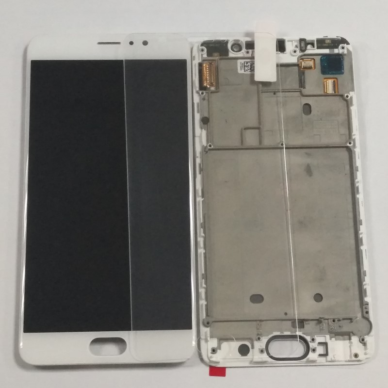 5 7 For Meizu Pro6 Plus Super Amoled LCD Display Touch Digitizer Screen Assembly For Meizu