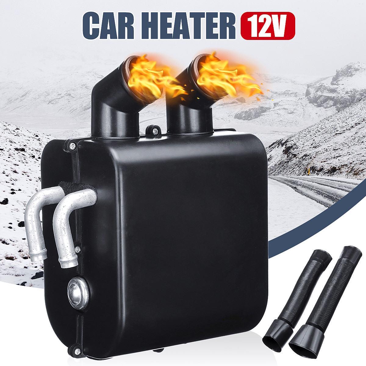 12 V Portable Auto radiateur de voiture Chauffage Dégivreur radiateur soufflant électrique Chauffage Pare-Brise Dégivreur antibuée Hiver appareils