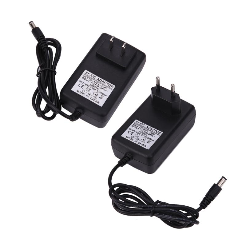 AC To DC 5.5mmx2.5mm 19V 600mA Switching Power Supply Adapter For Sweep Cle