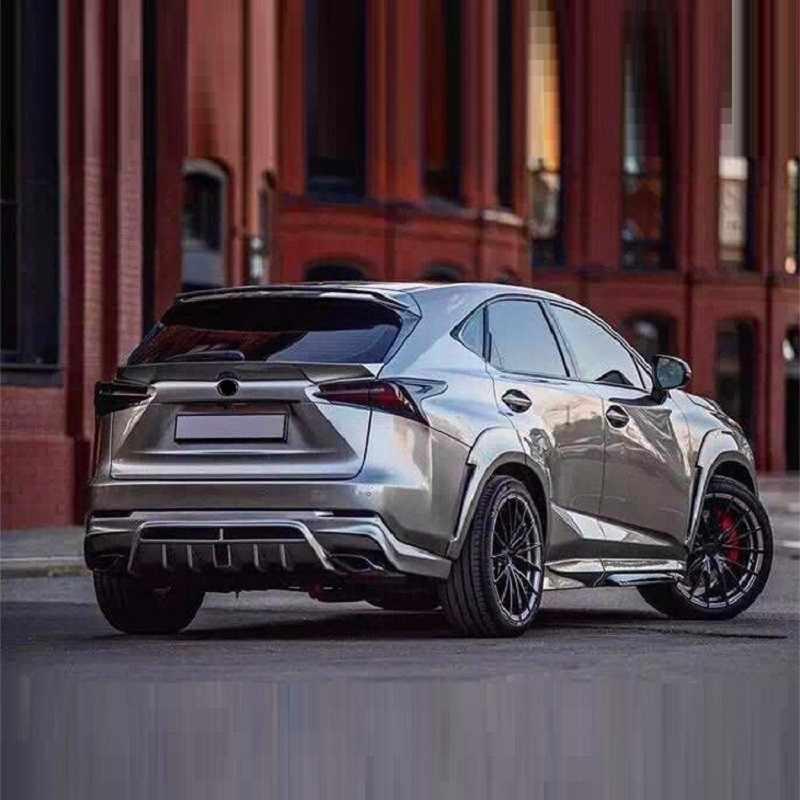 Modification Accessories Auto Automobile Parts Decoration Tuning Front Lip  Car Rear Diffuser Bumpers 15 16 FOR Lexus NX series