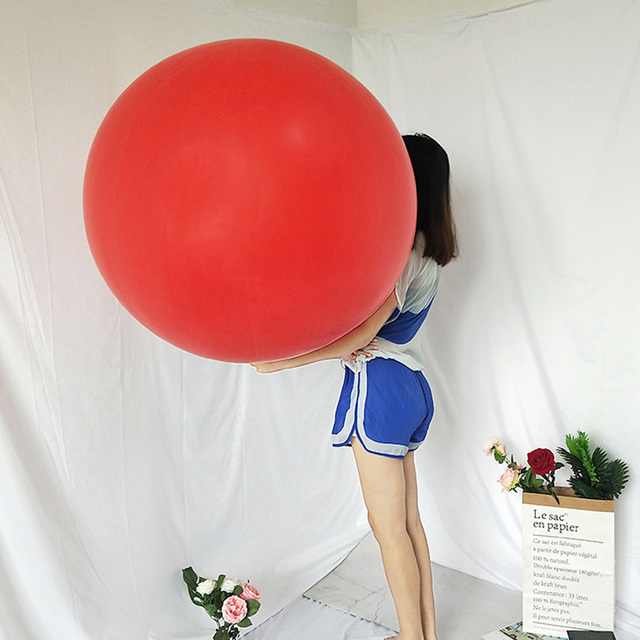 72 Inch Big Clear Balloon Latex Balloons Wedding Decoration Inflatable Helium Air Balls Happy Birthday Party Balloons