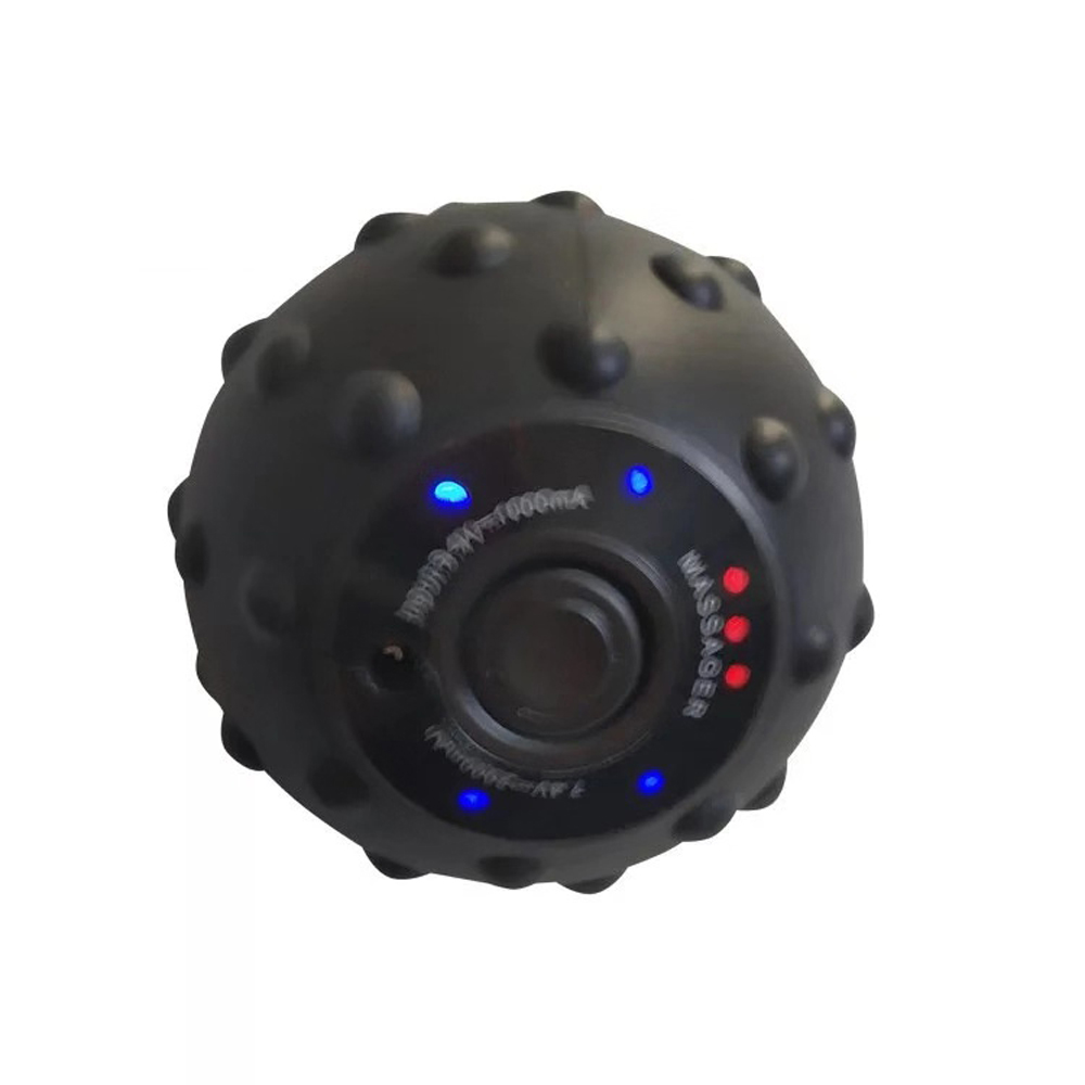 Vibrating Massage Ball with 4 Speed Vibration Adjustments to Treat Small Muscle Groups