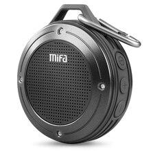MIFA F10 открытый беспроводной Bluetooth 4,0 переносной стереомикрофон Встроенный микрофон ударопрочность IPX6 Водонепроницаемый динамик с Bas