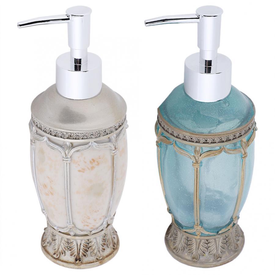 European Style Shampoo Container Bottle Bathroom Home Hotel Soap Pump Lotion Manual soap dispenser pump for Bath/Washroom