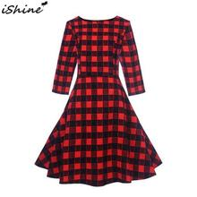 2933983d5480b Galeria de red and black plaid dress por Atacado - Compre Lotes de ...