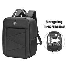 лучшая цена ALLOET for Xiaomi A3/FIMI Drone Camera Bag Case Remote Control Drone Carrying Backpack Handbag Storage Bag Box Case Accessories