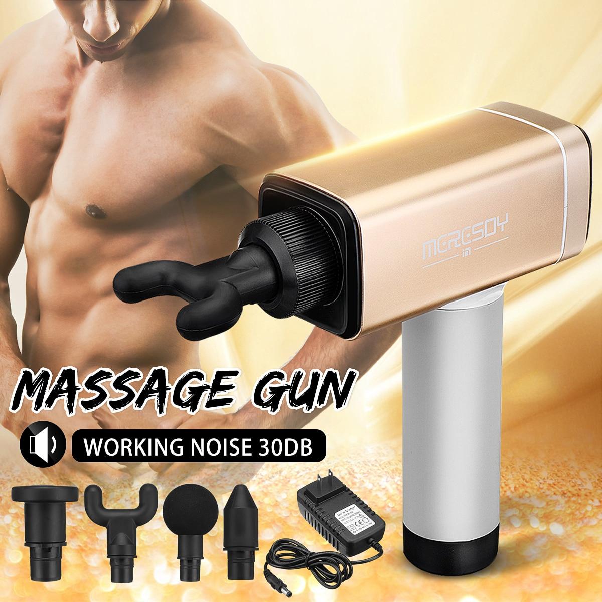 Massager do corpo relaxado 24 V Uso Comercial De Lítio Sem Fio Massagem para Arma de Vibração Da Máquina De Massagem de Relaxamento Muscular