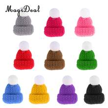 24a286d5202 Lovely Miniature Mini Knit Hats for 1:12 Scale Dollhouse Miniature Home Shop  Accessories Dolls