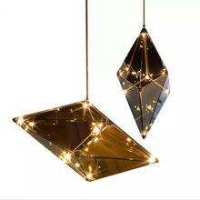 Светодиодный стеклянный подвесной светильник в стиле пост модерн