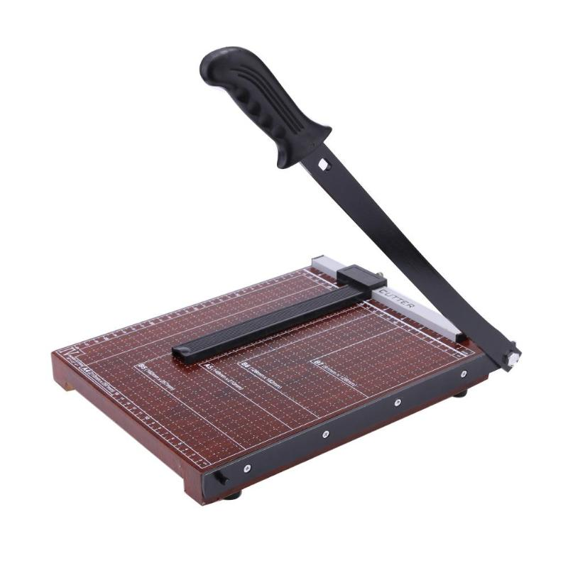 Professional A4 Paper Card Trimmer Guillotine Scrapbook Photo Cutter Office Paper Cutting Mats Tools Cutting Supplies Wholesale
