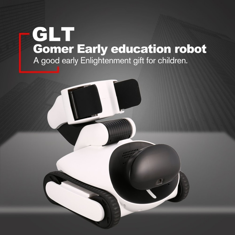 GLI Gomer Intelligent Early Education Robot App Remote Control Programmable Visual Identify Usb RC Robot Toy for Kids visual education