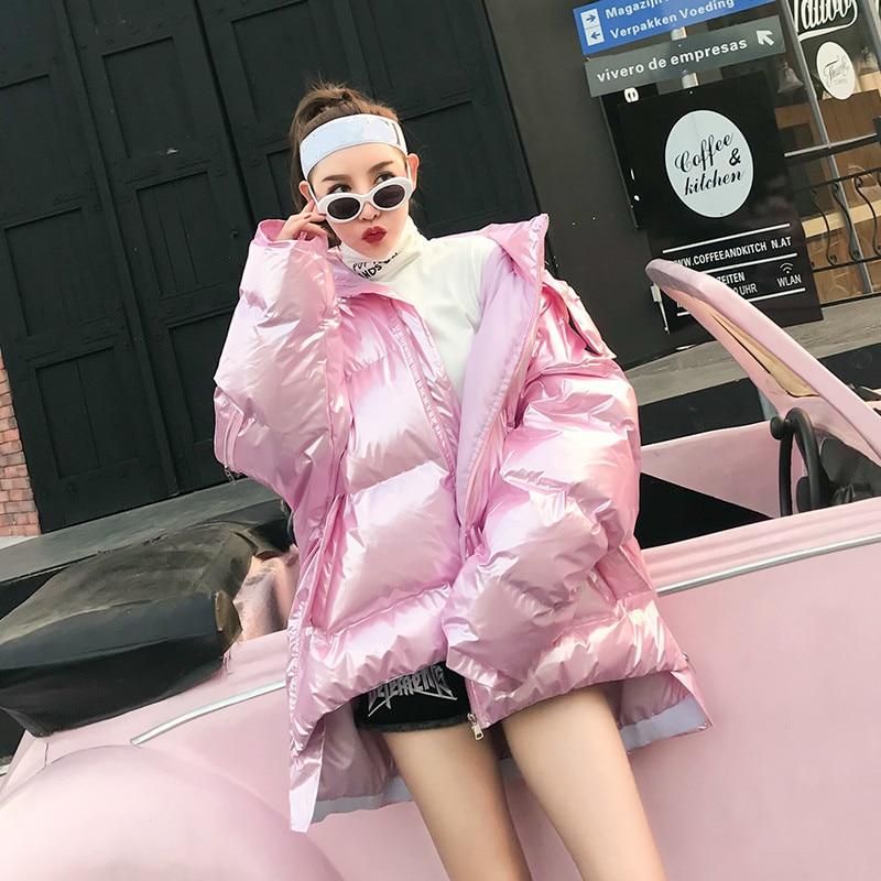 Pink Vêtement Bonjean De Femme Survêtement Manteaux garder Jacket D'hiver Et Bj464 Pour Coton Épaissir Rose 2018 Vestes Chaud Manteau xdorCeB