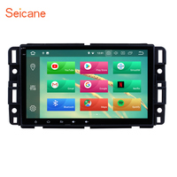 Seicane Android 8.1/8.0 8 inch Radio for 2007 2015 2016 GMC Canyon Yukon Terrain Acadia Car GPS Navigation Unit Player With SWC