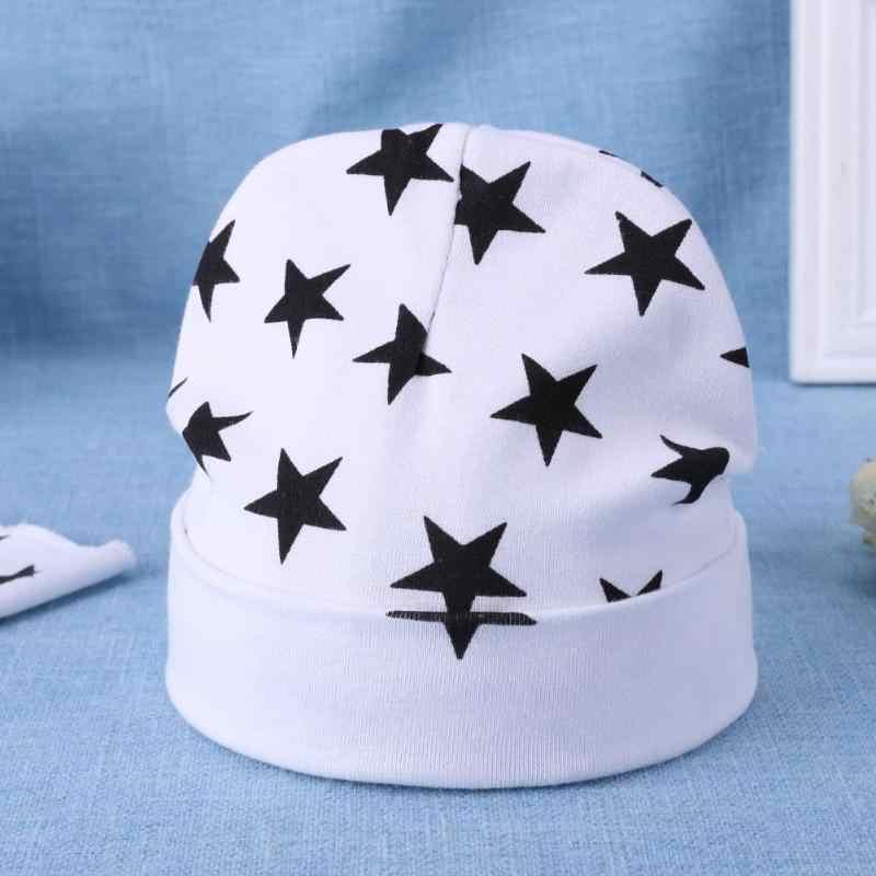 Baby Star พิมพ์ Warm หมวกเด็กการ์ตูนหมวกถักหมวกชุดเด็กหมวกเด็กฤดูใบไม้ร่วงฤดูหนาวถ่ายภาพ Props