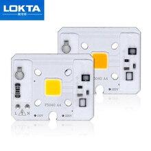 цена на 10 PCS LED Chip Lamp 10W 220V 110V IP65 Smart IC Fit For DIY LED Flood Light Cold White Warm White