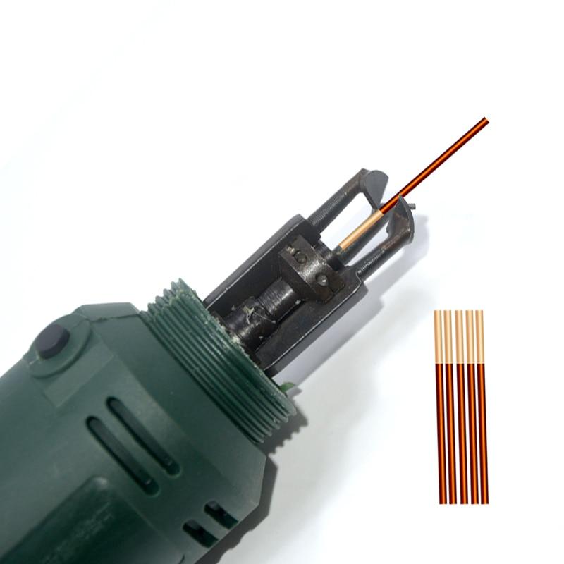 DF 6 Enameled Wire Stripping Machine Varnished Wire Stripper Enameled Copper Wire Stripper Cleans enamel wire