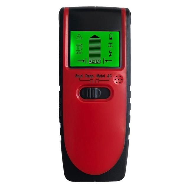 4 In 1 Metal Detector Metal Wood Studs AC Voltage Live Wire Detect Wall Scanner Electric Box Finder Wall Detector Wall Scanner