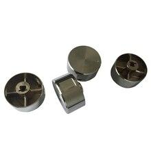 5 шт. поворотный переключатель части газовой плиты ручка газовой плиты из цинкового сплава круглая ручка с хромированным покрытием для газовой плиты