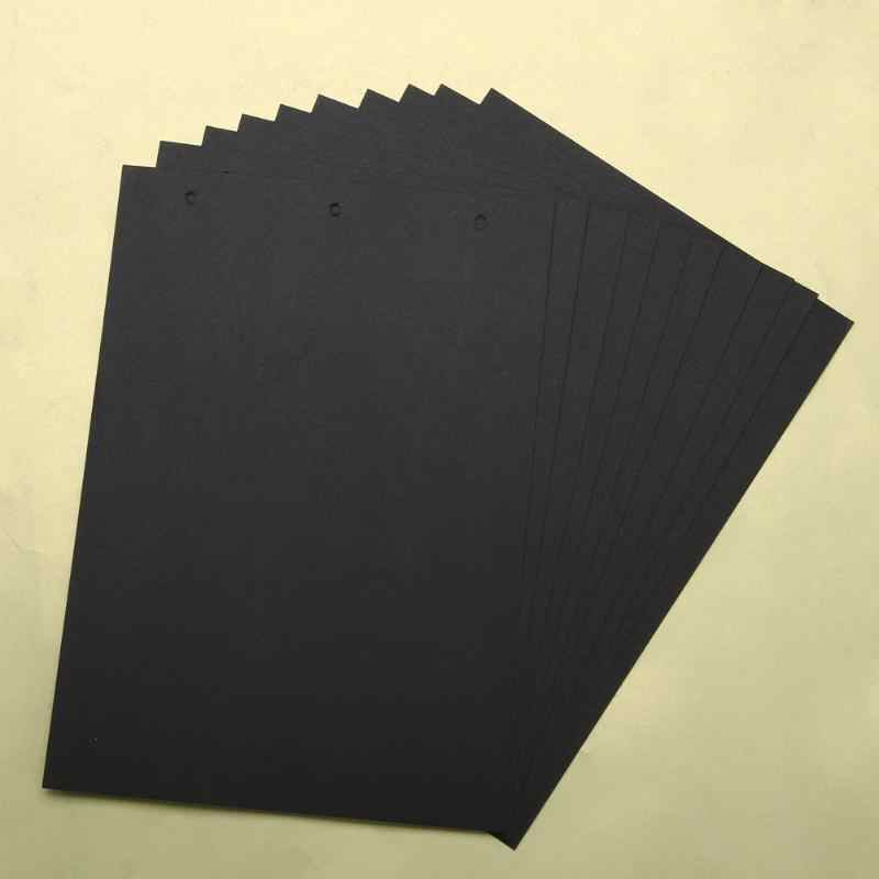 1Pc Extra Sheets for 18x26cm DIY Photo Album New 10 sheets Scrapbook Paper Crafts Inner Sheets Black Card Handmade Inside Pages