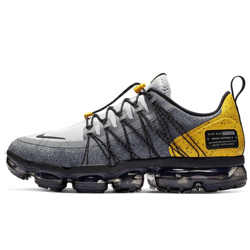 Nike AIR VAPORMAX Новое поступление Для мужчин кроссовки новый шаблон Кроссовки C воздушными подушками удобная обувь # AQ8810-010