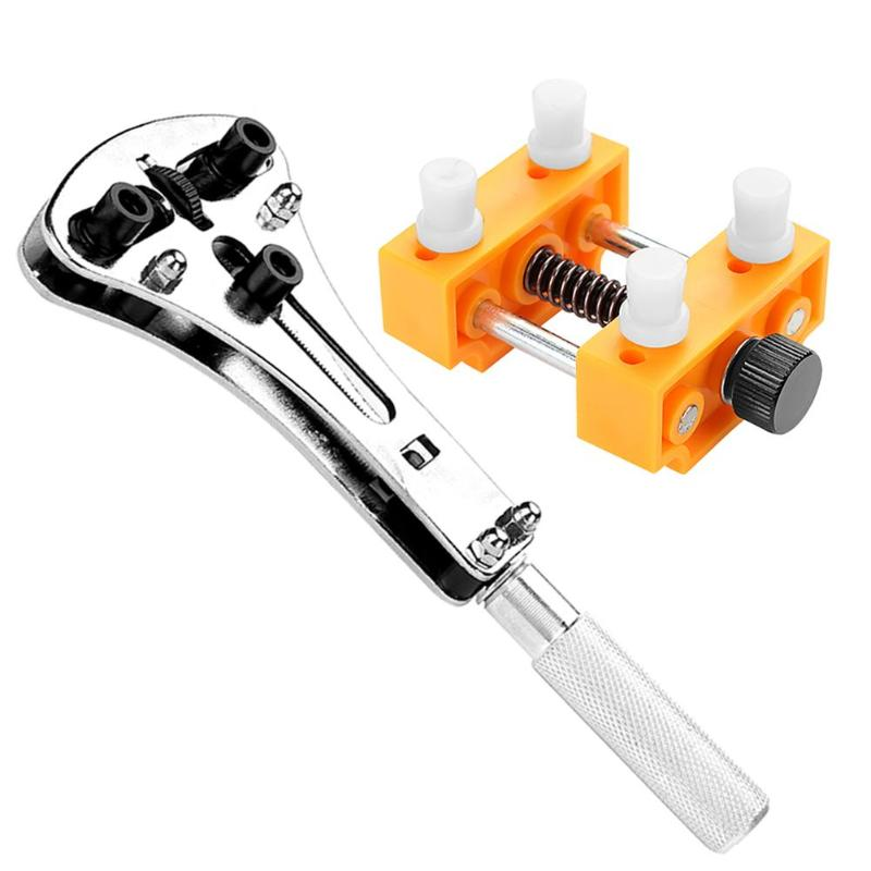 Watch Case Opener Set Watch Case Opener Adjustable Screw Back Remover Rear Cover Opening Devices Kit Battery Changing Tools Watch Case Opener Set Watch Case Opener Adjustable Screw Back Remover Rear Cover Opening Devices Kit Battery Changing Tools