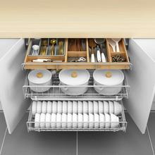 Cucina Alacena Pantry Accesorios Armario Cestas Para Organizar Stainless Steel Cuisine Cozinha Organizer Kitchen Cabinet Basket