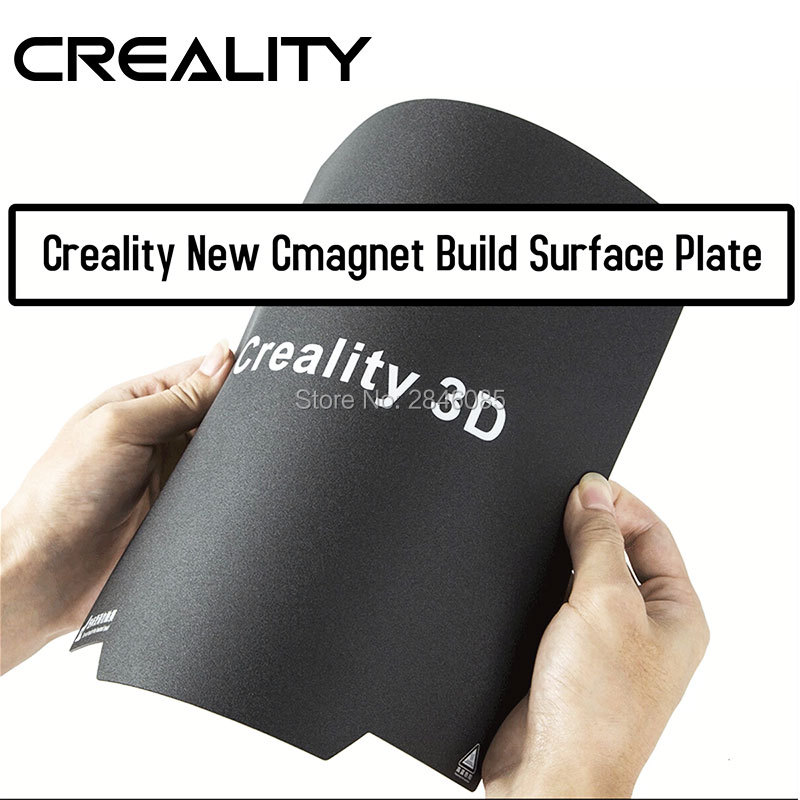 Creality 3Dflexible Upgrade Magnet Build Surface Plate Pads Ender-3/CR20 Heated Bed Parts For MK2 MK3 Hot Bed