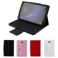 350mA Bluetooth Keyboard Case for Samsung Galaxy Tab A 10.1'Inch T580 Intelligent Dormant Detachable Keyboard