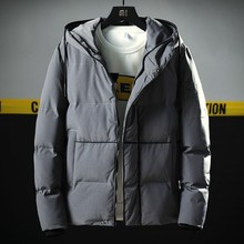 5c44490a2c8b Winter Thick Mens Jacket Parka Coats 2018 New Brand Clothing Hoody Parkas  Homme Turn Down Collar