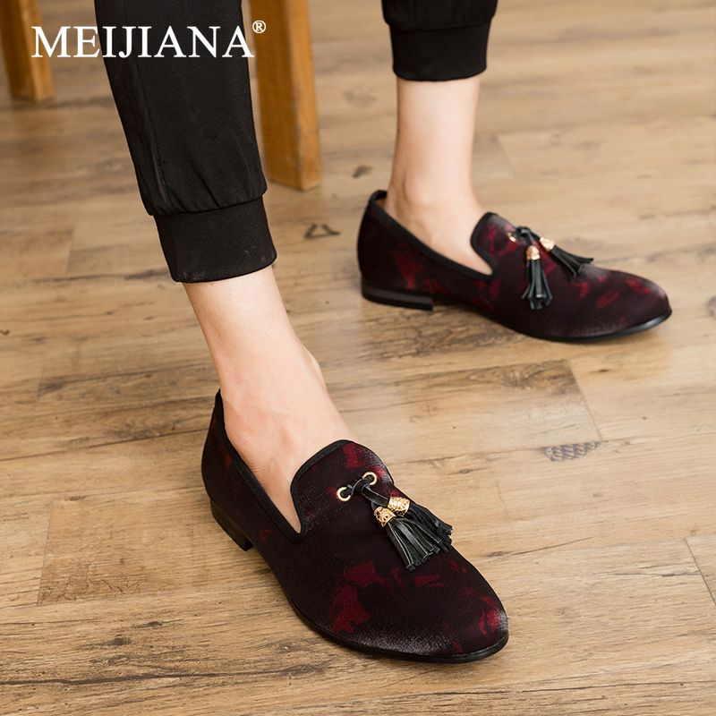 Meijiana Comfortable Shoes Men Loafers Fashion Brand New Spring
