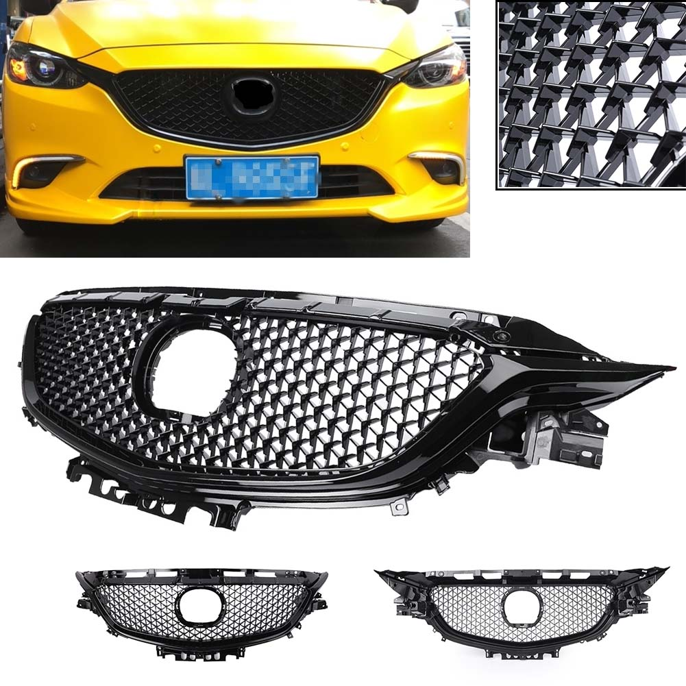 For Ford Escape 17 Car Front Plastic Middle Lower Bumper Grille Vent Hole Grill