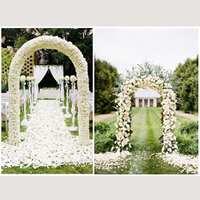 Wedding Arch Decorative Garden Backdrop Pergola Iron Stand Flower Frame For Marriage birthday wedding Party Decoration DIY Arch