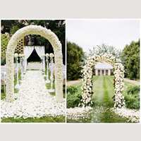 Wedding Arch Decorative Garden Backdrop Pergola Iron Stand Flower Frame For Marriage birthday wedding Party Decoration DIY Arch