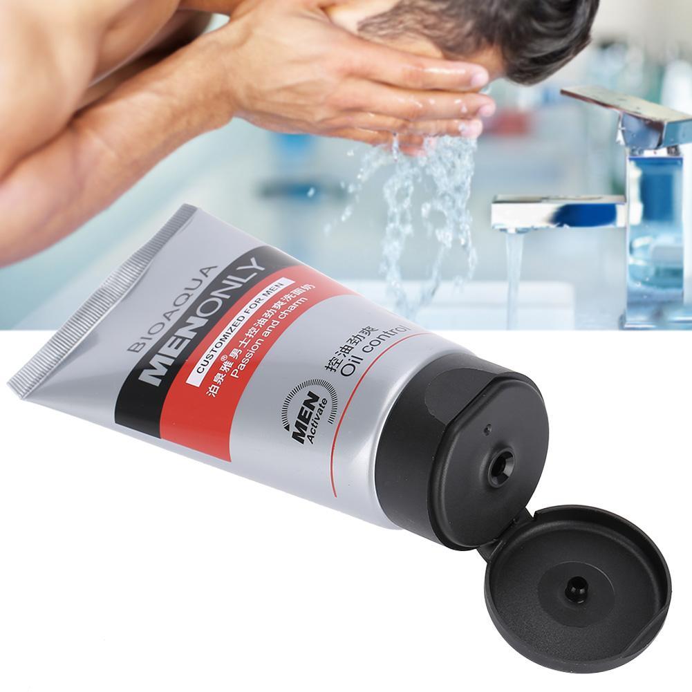 100g Öl-control Gesichts Reiniger Befeuchtet Hautpflege Tiefe Reinigung S