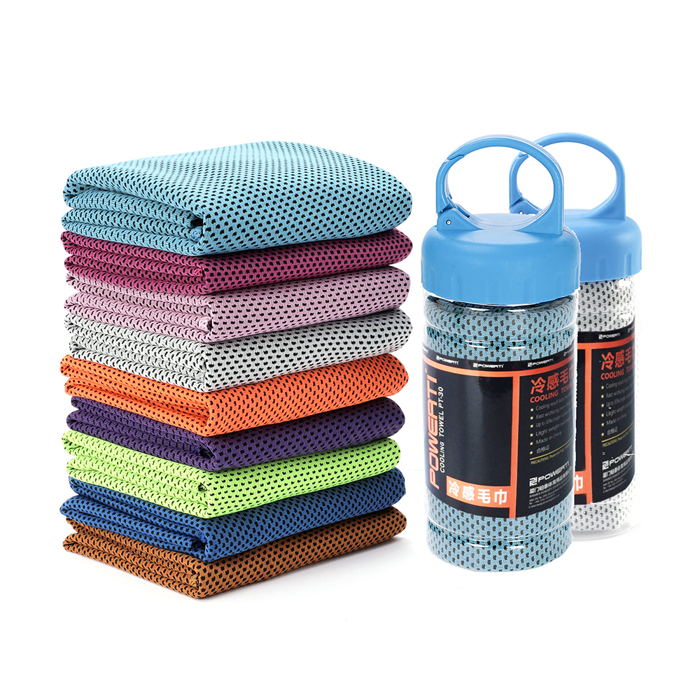 Sports Ice Towel: 12 X 40 Inch Men Women Sport Ice Towel Quick Dry Cool