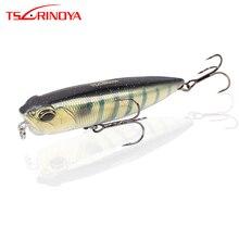 TSURINOYA DW59 дальняя дистанция, плавающий водный карандаш, 85 мм, 10,5 г, рыболовная приманка, карандаш, артициальная приманка, приманка для окуня, змееголовая приманка