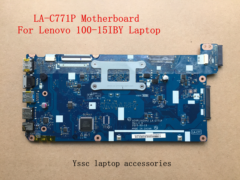 Free shipping New AIVP1 AIVP2 LA C771P Motherboard For Lenovo 100 15IBY B50 10 Motherboard