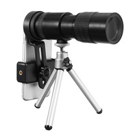 High Quality 10 30x HD Telephoto Telescope Monocular Camera Lens with Clip Tripod Stand Night Vision Outdoor Bird Watching